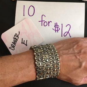 Bundle only stretch bracelet